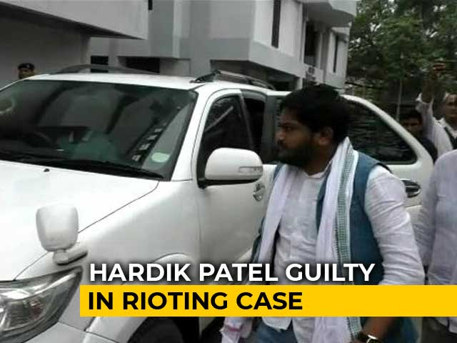 Video : Hardik Patel Gets Bail Soon After Conviction In 2015 Gujarat Rioting Case