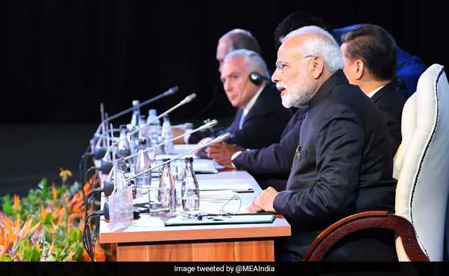 BRICS Summit 2018 Highlights: PM Modi Speaks At Africa Outreach Programme