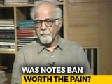 Video: In Terms Of Tax Revenue, Notes Ban Resounding Success: Surjit Bhalla To NDTV
