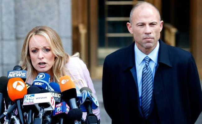 Adult Film Star Stormy Daniels Arrested Lawyer Claims'Set-Up