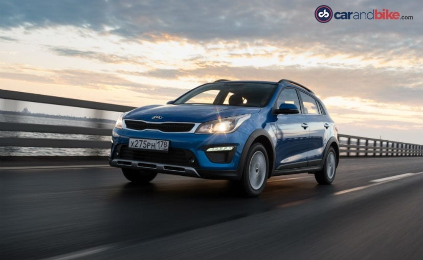 The Kia Rio X-Line is also sold in China as the Kia KX Cross