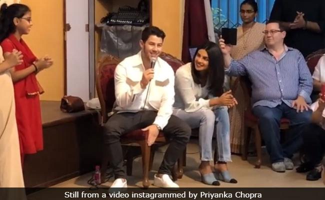 In Priyanka Chopra's Video, Nick Jonas Sings To 'Love Struck' Girls In Mumbai Orphanage