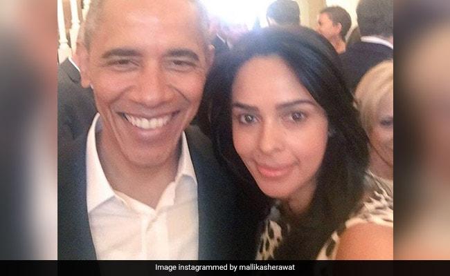 मल्लिका शेरावत ने किया बराक ओबामा को बर्थडे पर विश, बोलीं- आपसे मिलना सम्मान की बात
