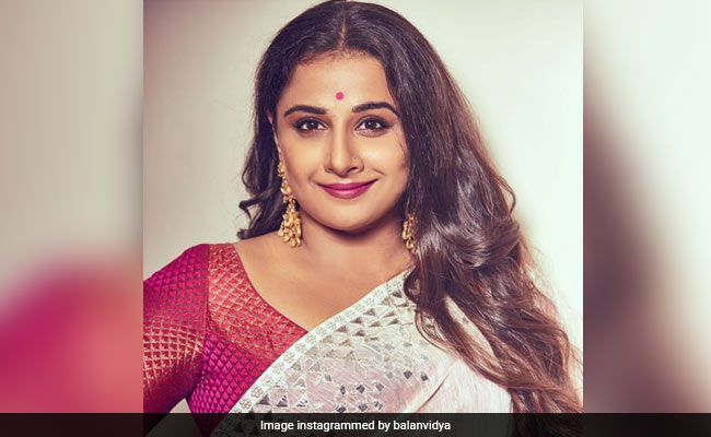 Vidya Balan Says She Is 'Very Excited' About NTR Biopic
