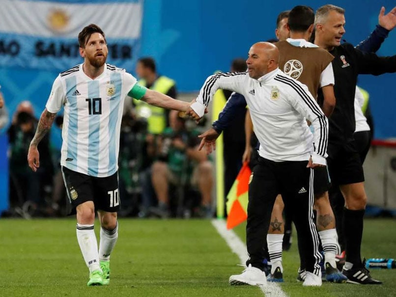 "World Cup 2018: Argentina Coach Jorge Sampaoli Not ""Thinking"" Of Resigning"