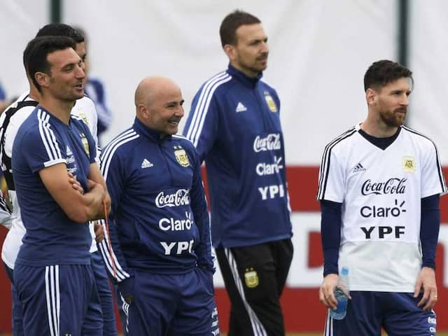 World Cup 2018: Dont Blame Lionel Messi, Pleads Argentina Manager Jorge Sampaoli