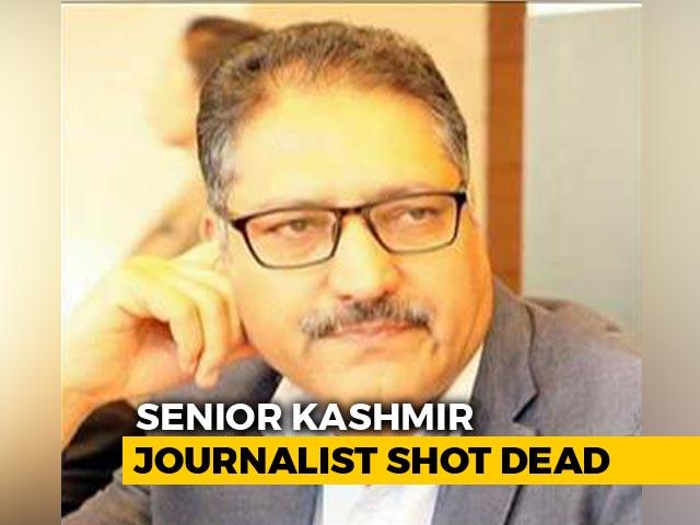 Video : 'Rising Kashmir' Editor Shujaat Bukhari Shot Dead In Srinagar