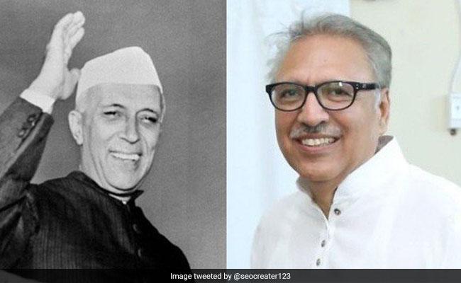 Jawaharlal Nehru के डेन्टिस्ट थे पाकिस्तान के नए राष्ट्रपति अलवी के पिता, भारत से है ये दिलचस्प रिश्ता
