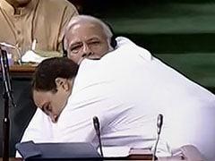 कांग्रेस ने हग डे के दिन राहुल गांधी और PM मोदी का वीडियो शेयर कर BJP पर साधा निशाना, कहा- गले लगाइए