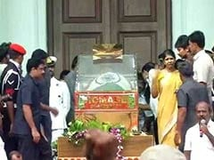 Court To Decide On Karunanidhi Burial At Chennai's Marina Beach: 10 Facts