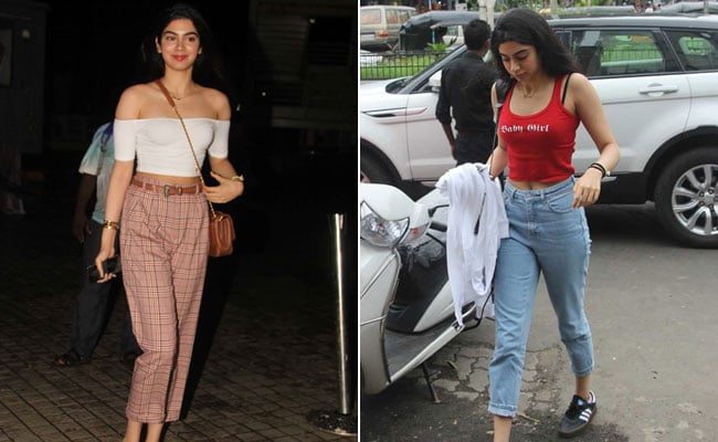 Khushi Kapoor's Perfectly Chill Style Is Millennial Fashion At Its Best