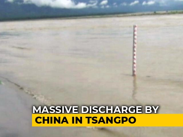 Video : China Issues Flood Alert In India As River Tsangpo Swells