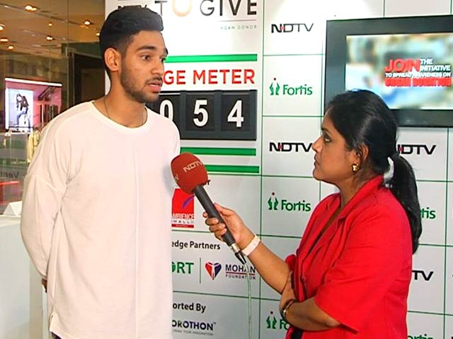 Video : India's Under 19 Footballer Shubham Sarangi Talks About Organ Donation