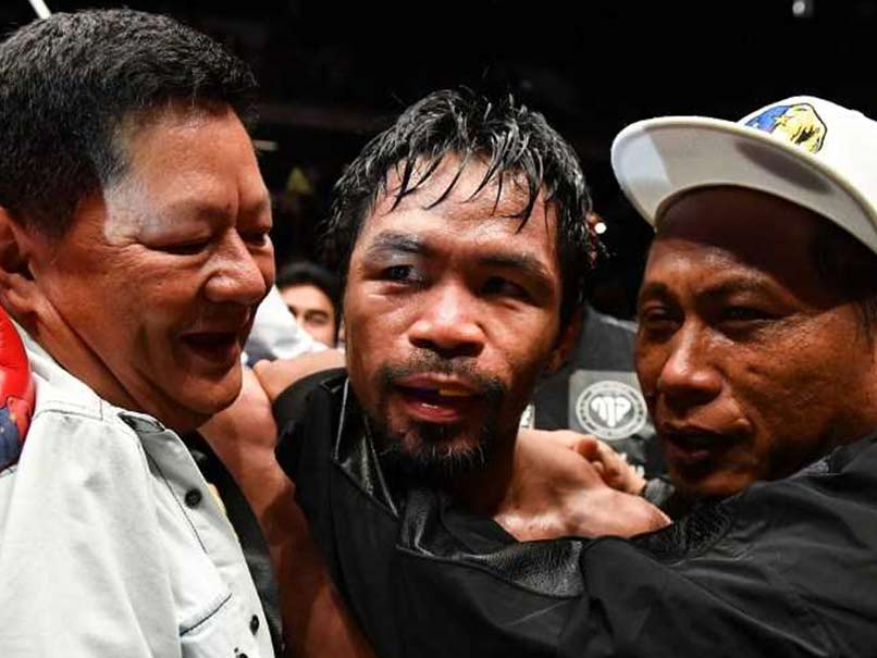 Manny Pacquiao Stops Lucas Matthysse To Win Back World Title