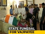 Video : People Pay Final Tribute To Atal Bihari Vajpayee