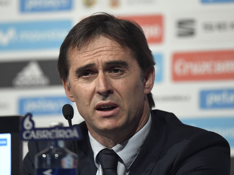 FIFA World Cup 2018: Spain Coach Julen Lopetegui Strives To Match Domestic Dominance