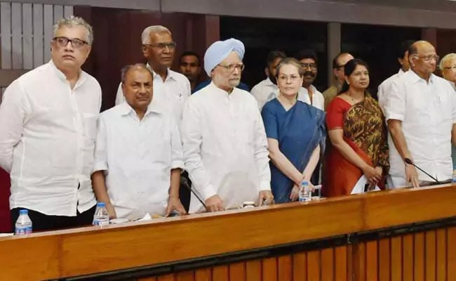Opposition Meet Today To Plan Strategy For Monsoon Session Of Parliament
