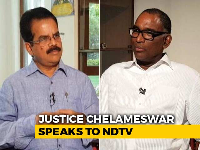Video : Don't Regret Going Public, This Is Why: Justice Chelameswar To NDTV