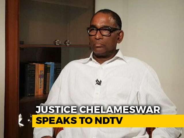 Video : Bargaining Happens In Collegium: Justice Chelameswar