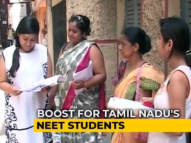 Video : Extra Marks For Those Who Took NEET In Tamil, Revised Ranking In 2 Weeks