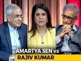 Video : Amartya Sen Accepts NITI Aayog Boss's Debate Challenge