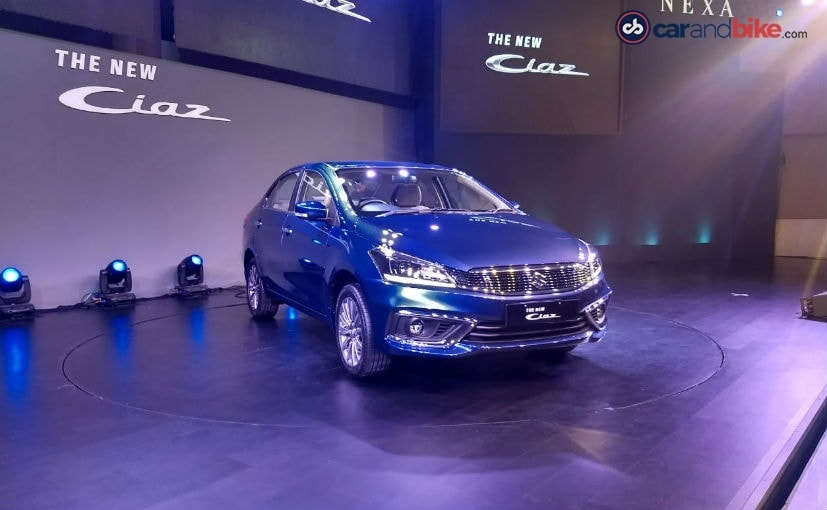 Maruti Ciaz (facelift) launched, prices start at INR 8.19 lakh