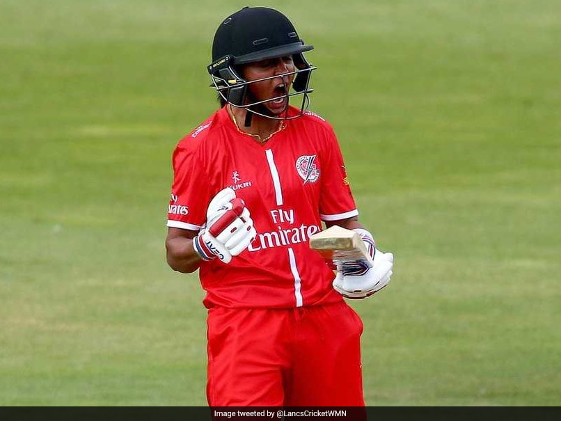 Harmanpreet Kaur Stars On Debut As Lancashire Thunder Beat Surrey Stars