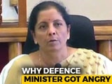 "Video : ""Unbelievable"": Nirmala Sitharaman Loses Her Cool At Karnataka Minister"