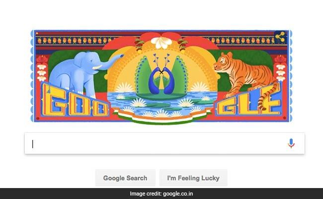 Independence Day: भारत के स्वतंत्रता दिवस पर गूगल ने बनाया शानदार डूडल