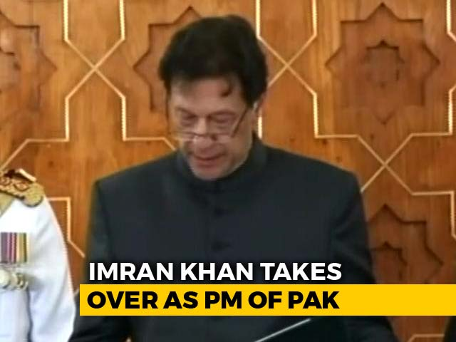 Video : As Imran Khan Takes Oath, A New Innings Begins For Pak