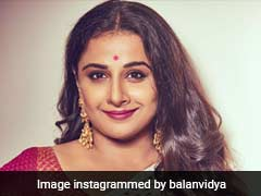 Vidya Balan Says, She Is 'Very Excited' About NTR Biopic