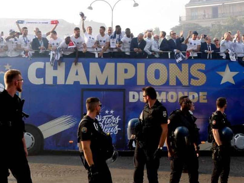 World Cup 2018: France Gives World Cup Winners A Heroes Welcome Home