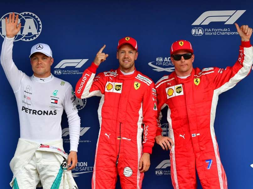 Sebastian Vettel On Pole In Germany Setback For Lewis Hamilton
