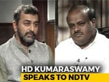 "Video : ""No Problem In Our Coalition Government"", HD Kumaraswamy Tells NDTV"