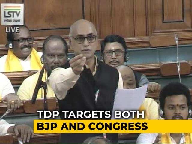 "Video : ""Dharm Yudh,"" Says TDP, Architect Of No-Trust Motion"