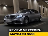 Video : Exclusive: Mercedes-Maybach S650 Review