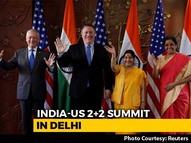 Video : India, US Pact Opens Up Sale Of Critical American Defence Tech