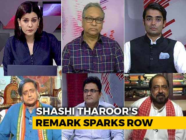 Video : Shashi Tharoor's 'Hindu Pakistan' Comment: Exaggeration Or Point To Ponder?