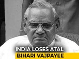 "Video : ""I Feel A Great Void"": PM Modi Mourns Atal Bihari Vajpayee"