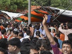 67 Hurt After Canopy Collapses At PM's Bengal Rally;