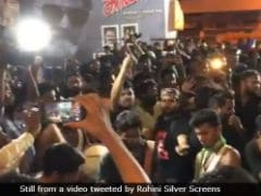 Rajinikanth's <i>Kaala</i> Releases. In Chennai, Fans Cheer, Set Off Fireworks At Crack Of Dawn