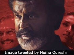 <i>Kaala</i> Posters: Huma Qureshi Features With 'Stalwarts' Rajinikanth And Nana Patekar