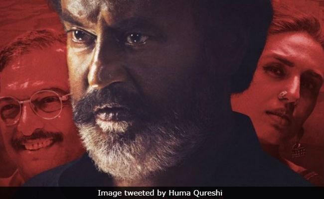 Kaala Posters: Huma Qureshi Features With 'Stalwarts' Rajinikanth And Nana Patekar