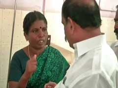 Minister Faces Anger Of Sterlite Protester's Mother. Video is Viral