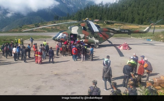 Indian Pilgrim Beheaded By Rear Blade Of Helicopter In Nepal