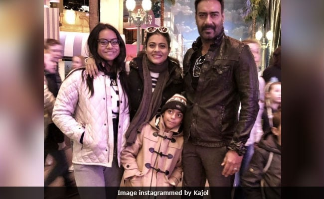 Kajol Is A Strict Mom But Ajay Devgn 'Definitely Pampers' Nysa And Yug