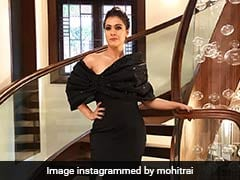 Kajol In This Black Gown Will Show You That There's Nothing She Can't Carry Like A Bosslady