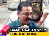 Video : Kamal Haasan Meets Sonia Gandhi, Says 'Too Early' To Talk Alliance