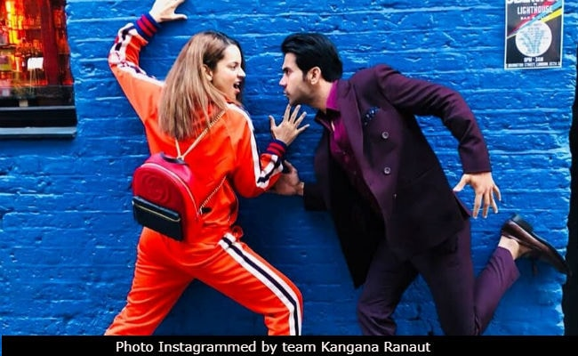 Just How Mental Can Kangana Ranaut And Rajkummar Rao Get? See London Pic
