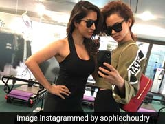 Kangana Ranaut Doesn't Go To The Gym In Just Any Old T-Shirt